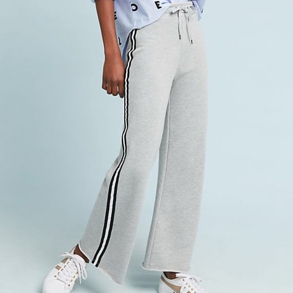 order online official photos aesthetic appearance Anthropologie Wide-Leg Terry Sweatpants - Size S